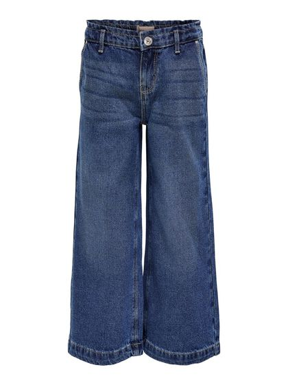 WIDE FITTED CROPPED TROUSERS
