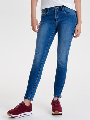 DENIM POWER REG ANKEL SKINNY FIT JEANS