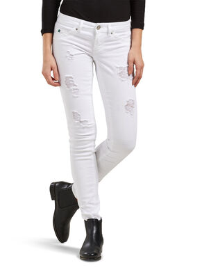 CORAL SL WHITE SKINNY FIT JEANS