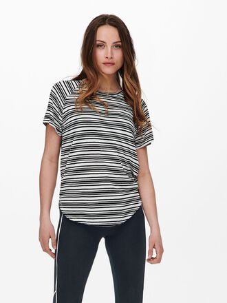 STRIPED TRAINING TEE T-SHIRT