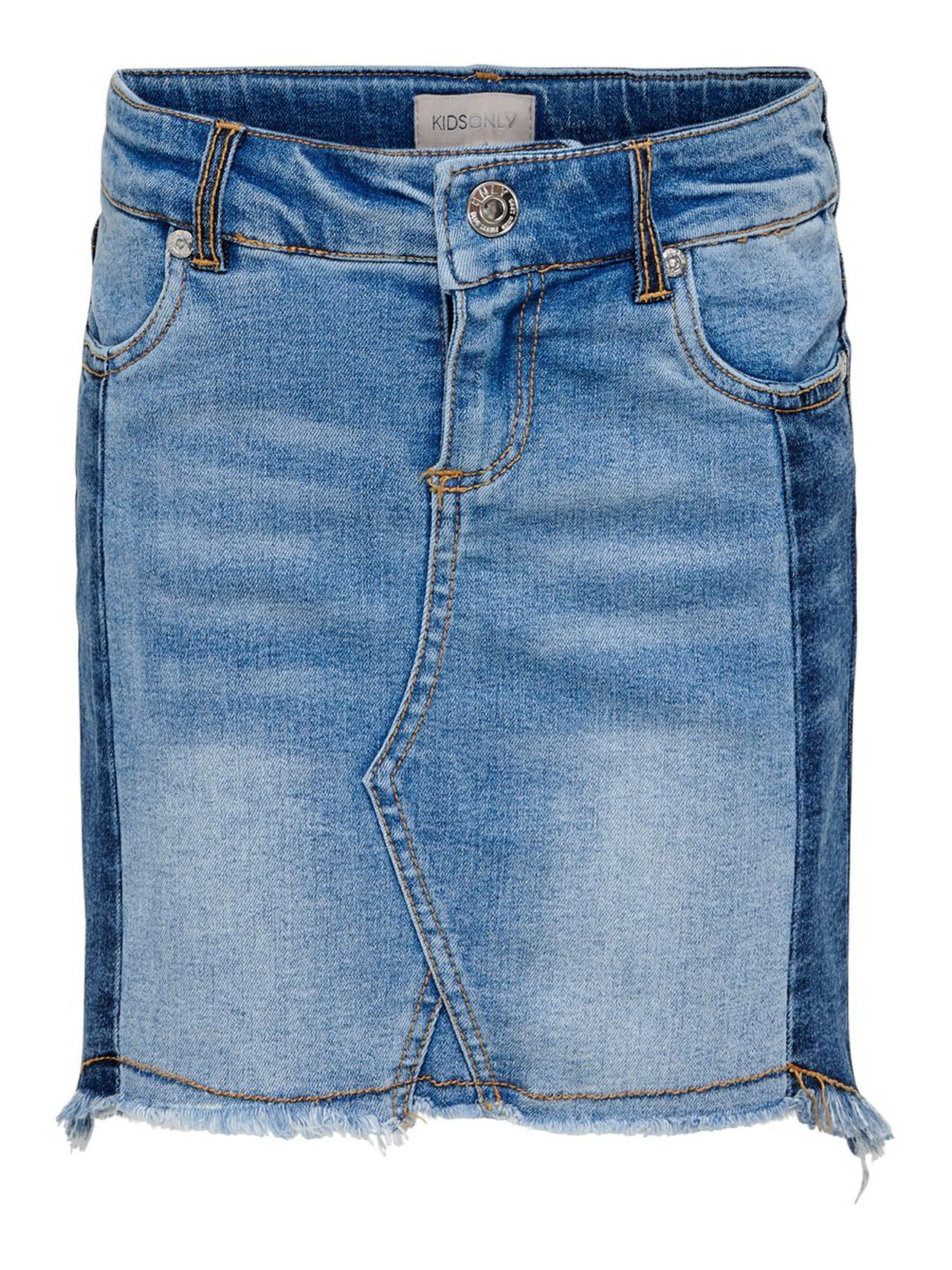 e85d54c272 Kids only regular fit denim skirt | ONLY