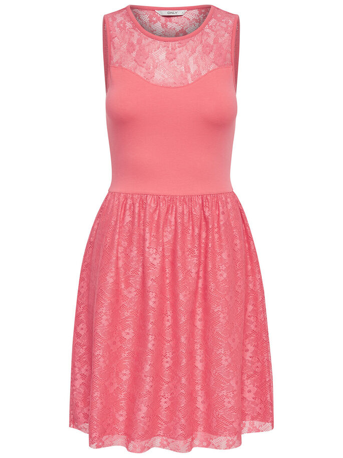 ÆRMELØS SLEEVELESS DRESS, Rose Of Sharon, large