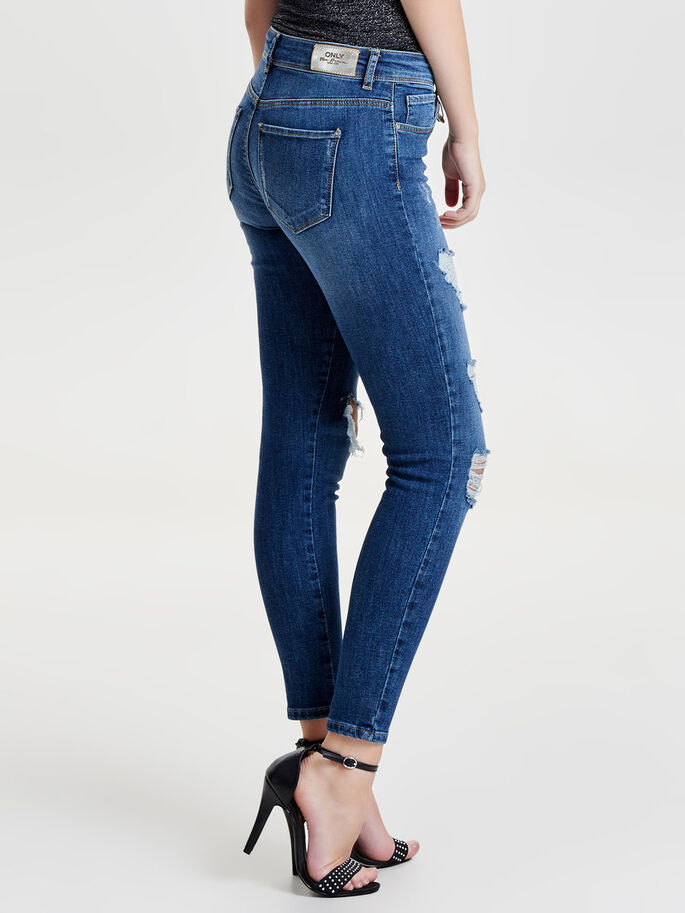 CARMEN REG ANKLE JEAN SKINNY, Medium Blue Denim, large