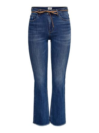 ONLKENYA MID SWEET CROPPED FLARED JEANS