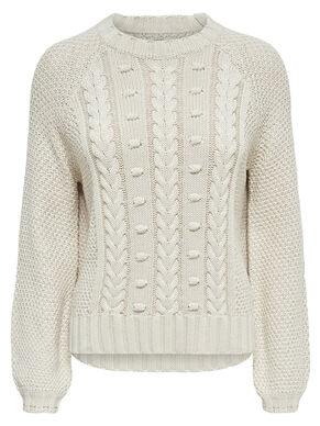PATTERN KNITTED PULLOVER