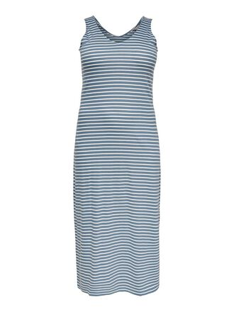 CURVY SLEEVELESS MAXI DRESS