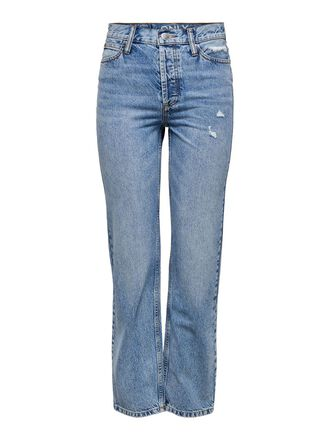 ONLELLA LIFE HW STRAIGHT FIT JEANS