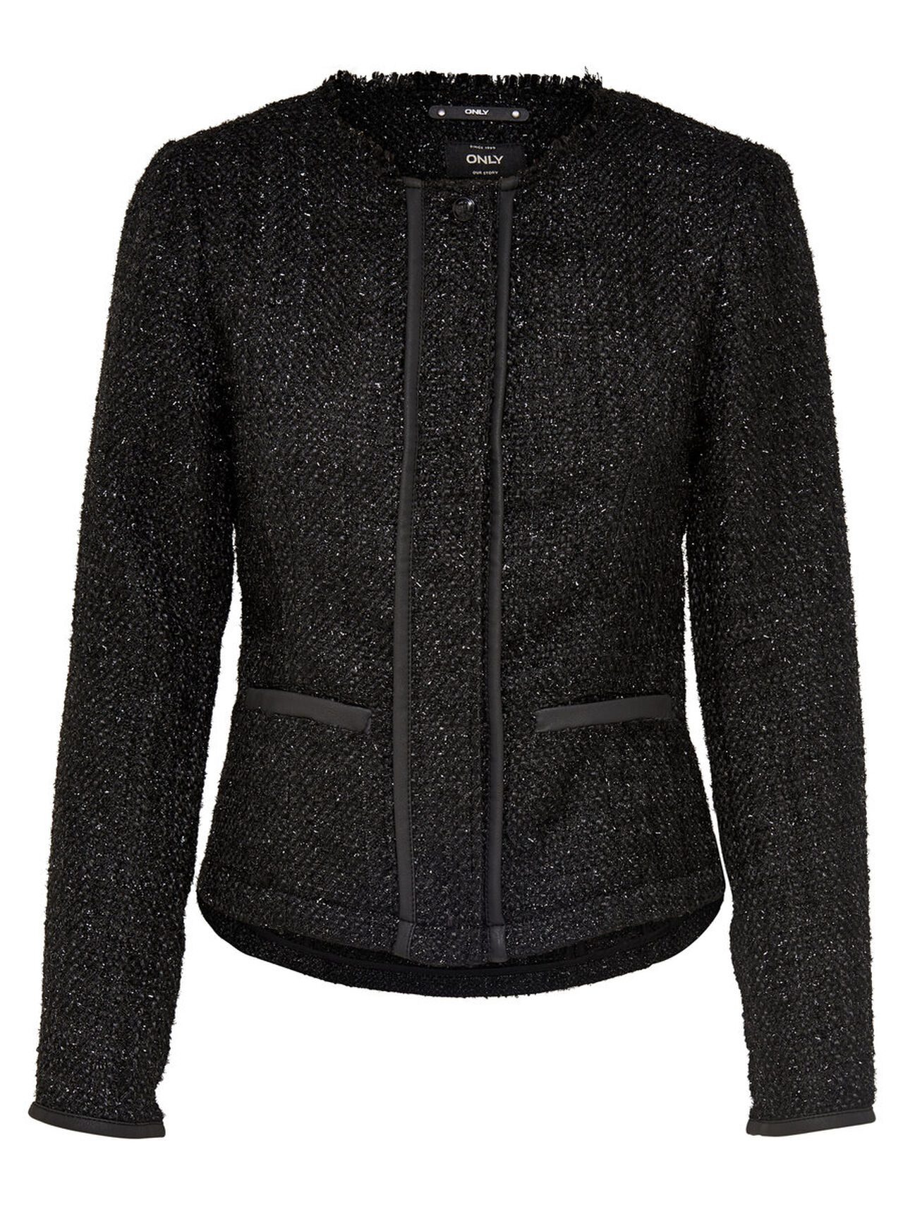 ONLY Boucle Jacket Women Black