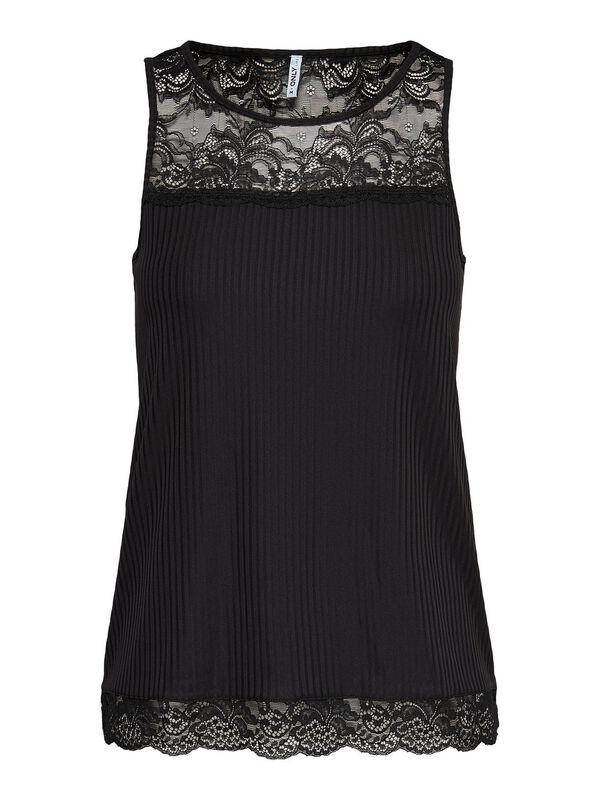 ONLY - only lace detai sleeveless top  - 1