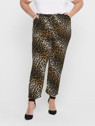 CURVY PRINTED TROUSERS