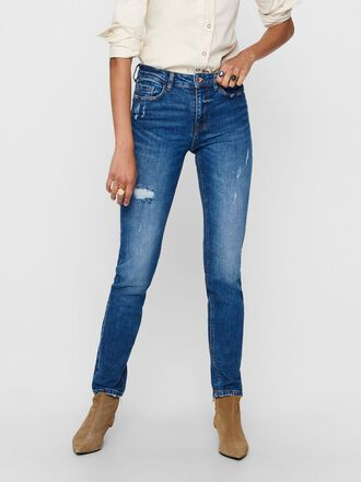 JDYLUCIA LIFE REG STRAIGHT FIT JEANS
