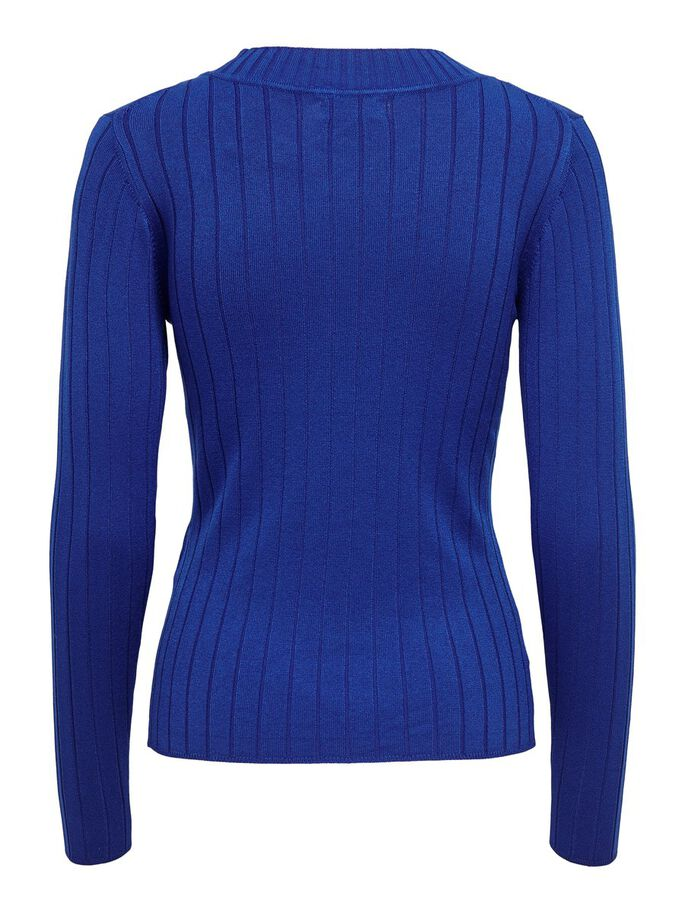 TIGHT FITTED KNITTED PULLOVER, Surf the Web, large