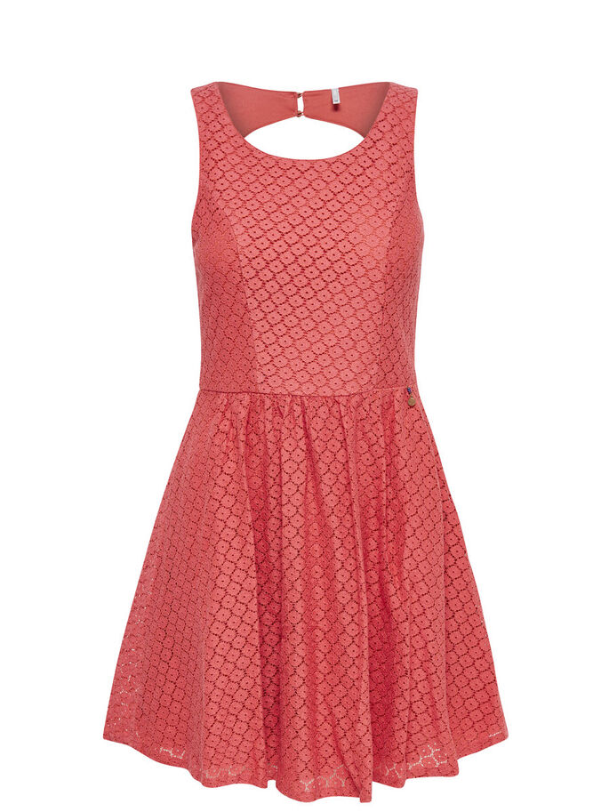DENTELLE ROBE SANS MANCHES, Faded Rose, large