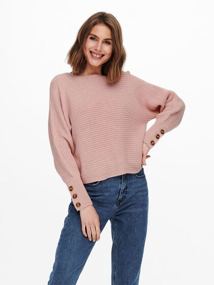 TEXTURE KNITTED PULLOVER