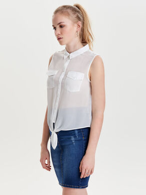 KNOT SLEEVELESS TOP