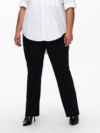 CURVY WIDE FITTED TROUSERS
