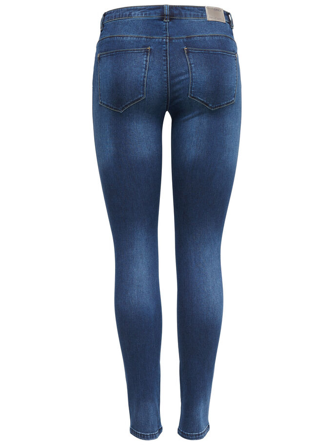 CARMEN REG JEAN SKINNY, Dark Blue Denim, large