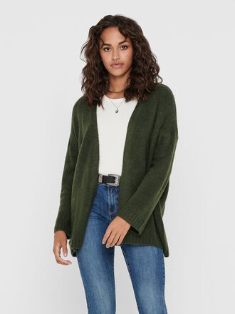 LOOSE FITTED KNITTED CARDIGAN