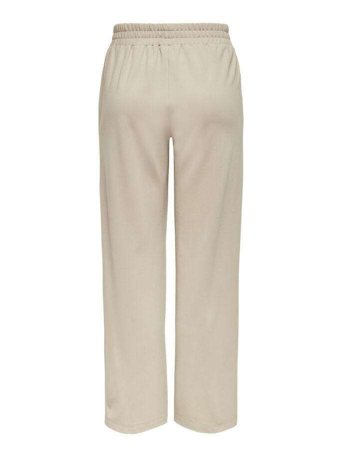 WIDE FITTED TROUSERS, Humus, large