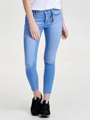 DONNA REG PUSH UP ANKLE SKINNY FIT JEANS