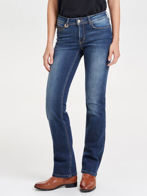 ELLA REG STRAIGHT FIT-JEANS