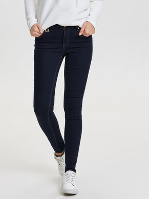 FREYA NORMALHÖGA PUSH-IN SKINNY FIT-JEANS