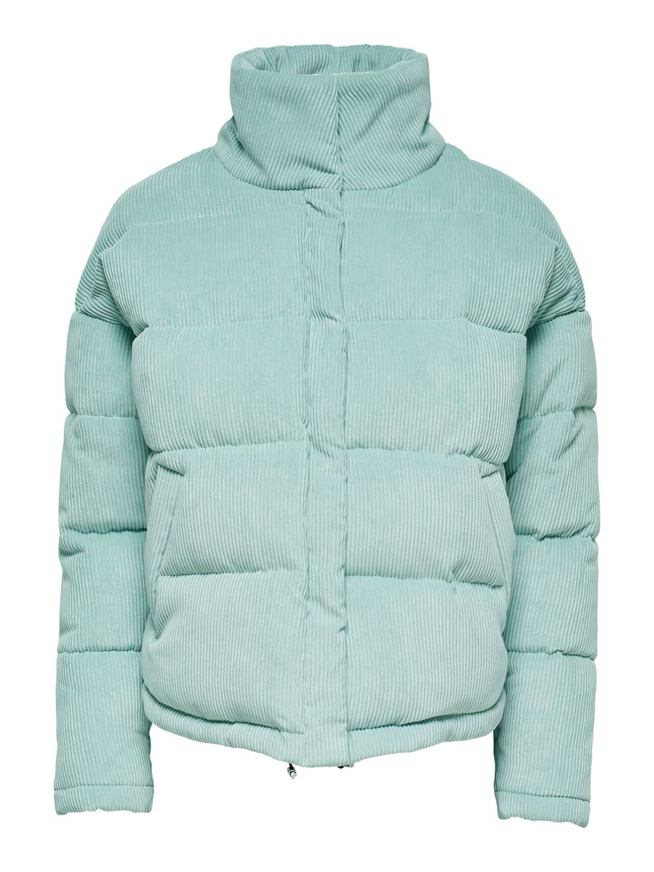 ONLY Cordoroy Quilted Jacket Women Blue