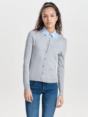 BASIS STRIKKET CARDIGAN