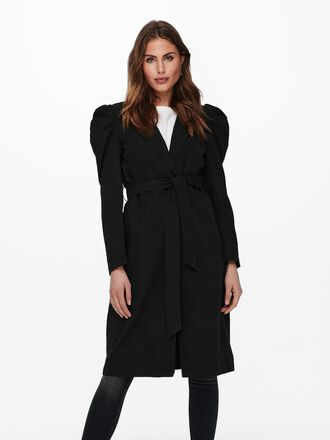 PUFF SLEEVE TRENCHCOAT