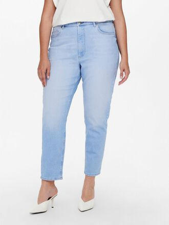 CURVY CARENEDA LIFE BABY BLUE MOM JEANS