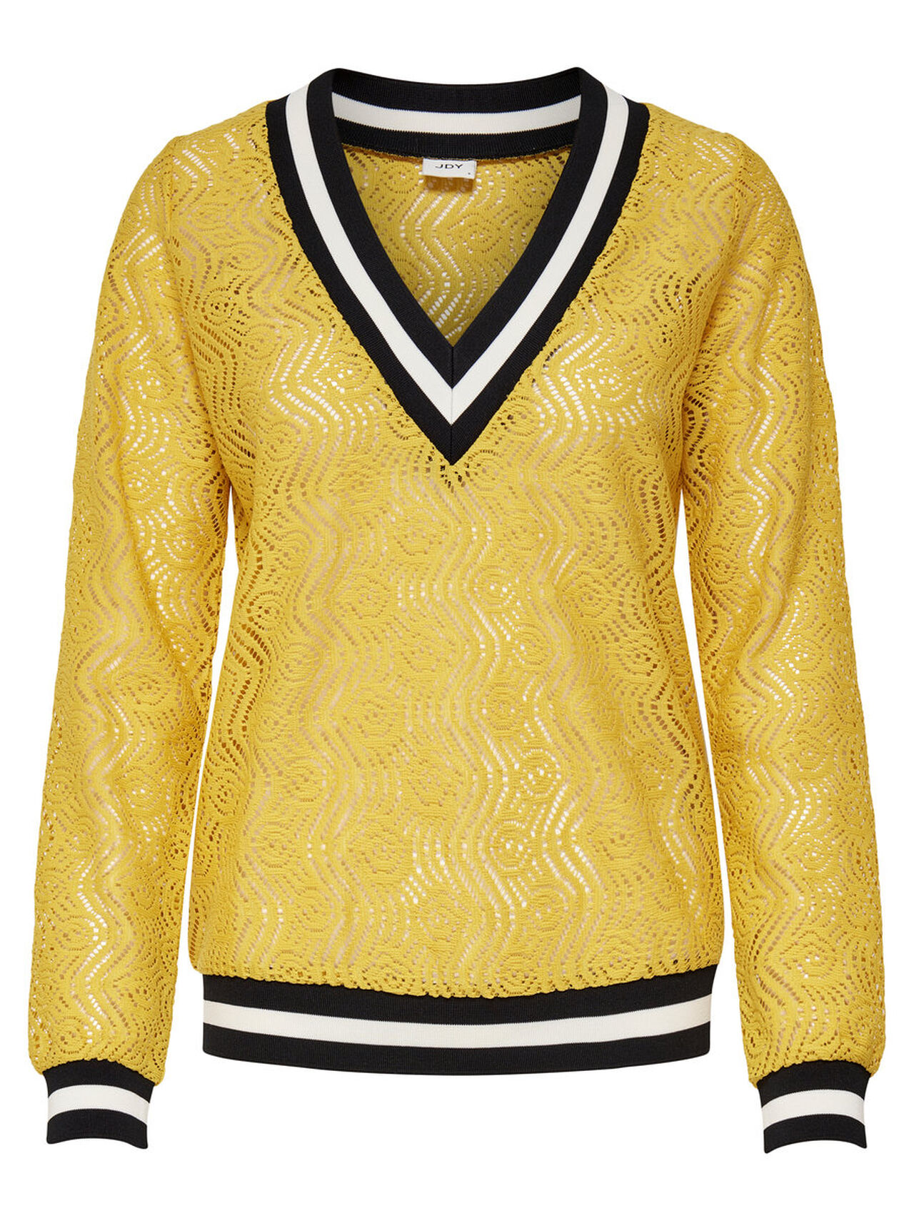 ONLY Lace Long Sleeved Top Women Yellow
