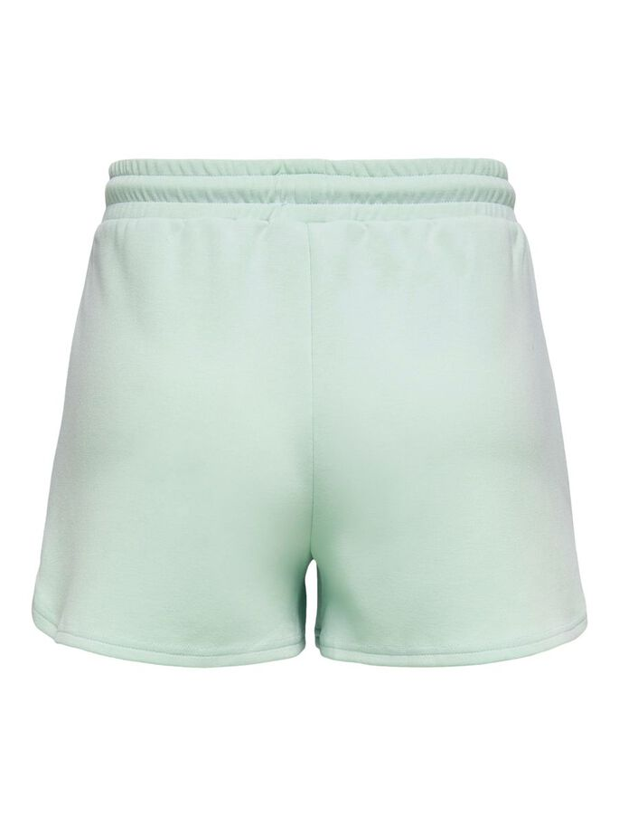 SOLID COLORED SWEAT SHORTS, Surf Spray, large