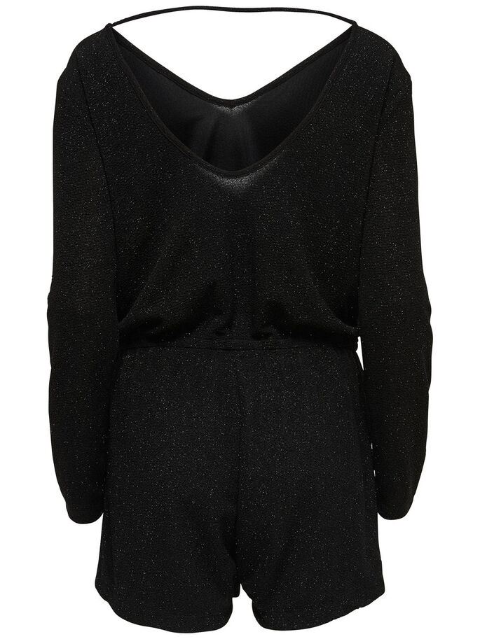 LÅNGÄRMAD PLAYSUIT, Black, large