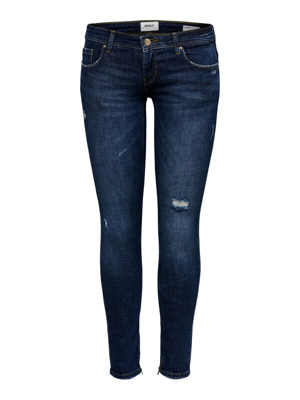 ONLY - only coral sl ankle zip skinny fit jeans  - 1