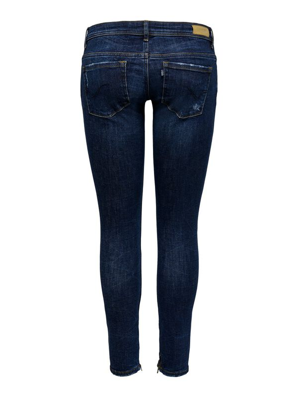 ONLY - only coral sl ankle zip skinny fit jeans  - 2
