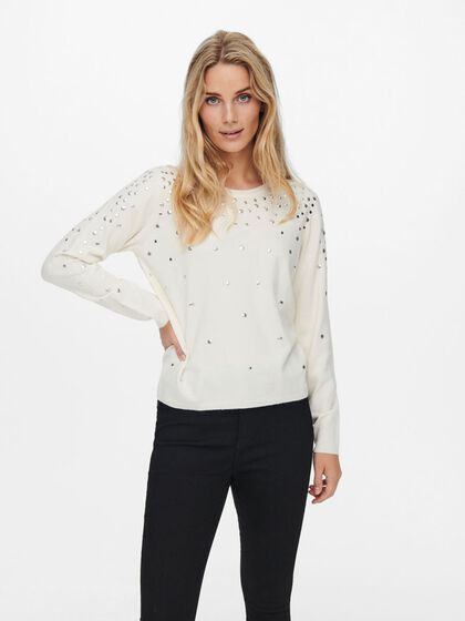 STUDDED PULLOVER