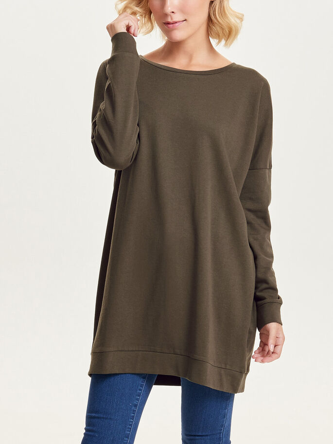 OVERSIZE FIT SWEATSHIRT, Wren, large