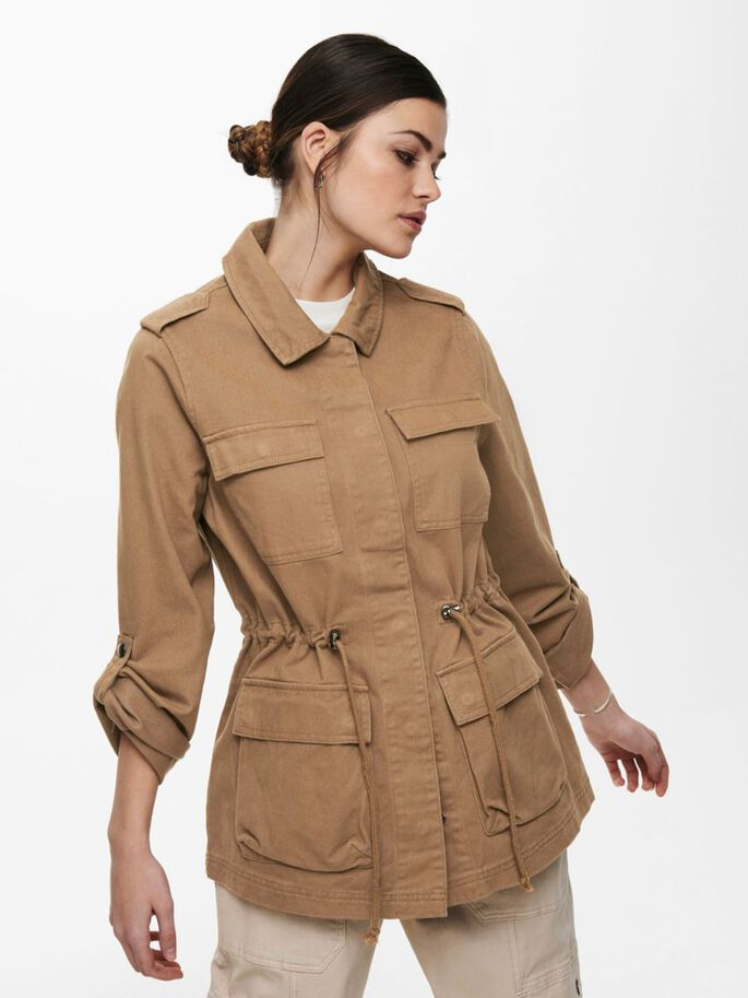UTILITAIRE VESTE, Toasted Coconut, large