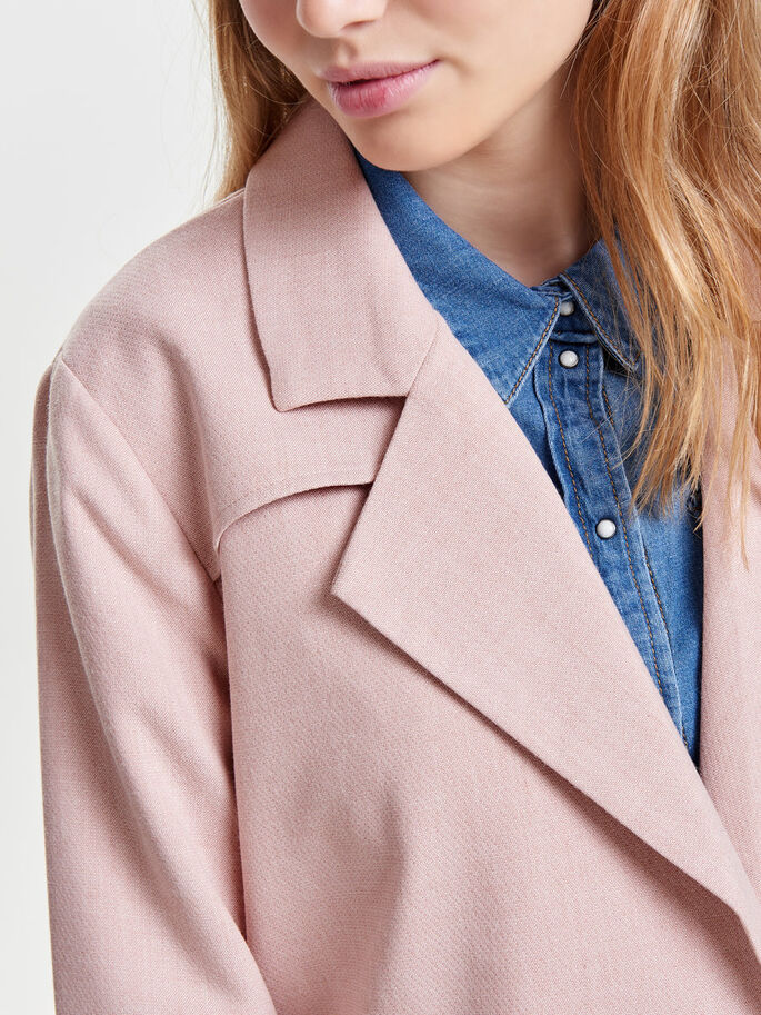KLASSISK TRENCHCOAT, Rose Quartz, large