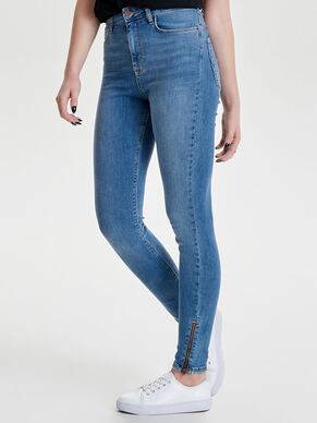 STUDIO HW ANKLE SKINNY FIT JEANS