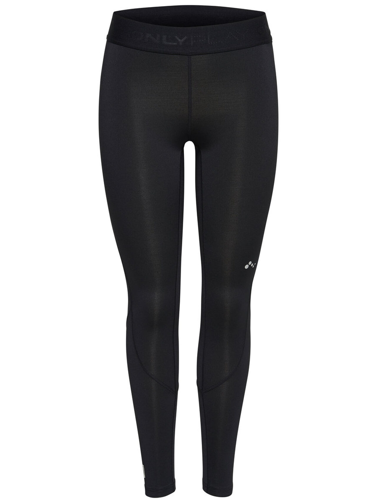 ONLY Solid Training Tights Women Black