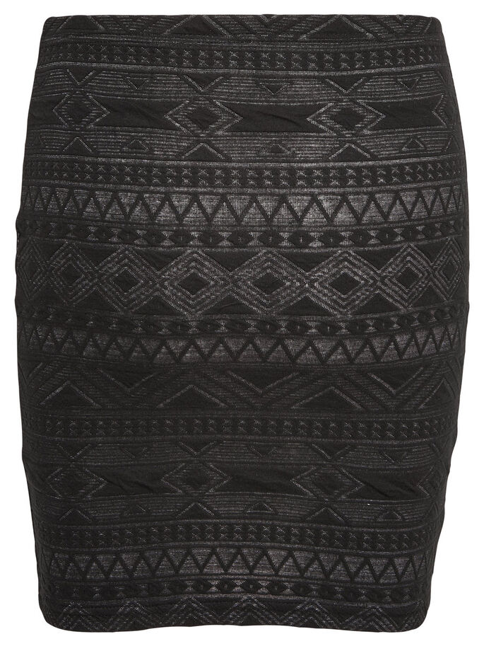 STRUCTURE SKIRT, Black, large