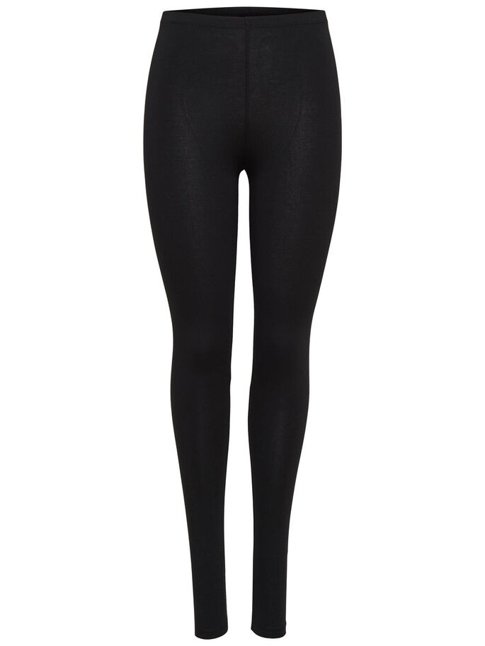 BASIC LEGGINGS, BLACK, large