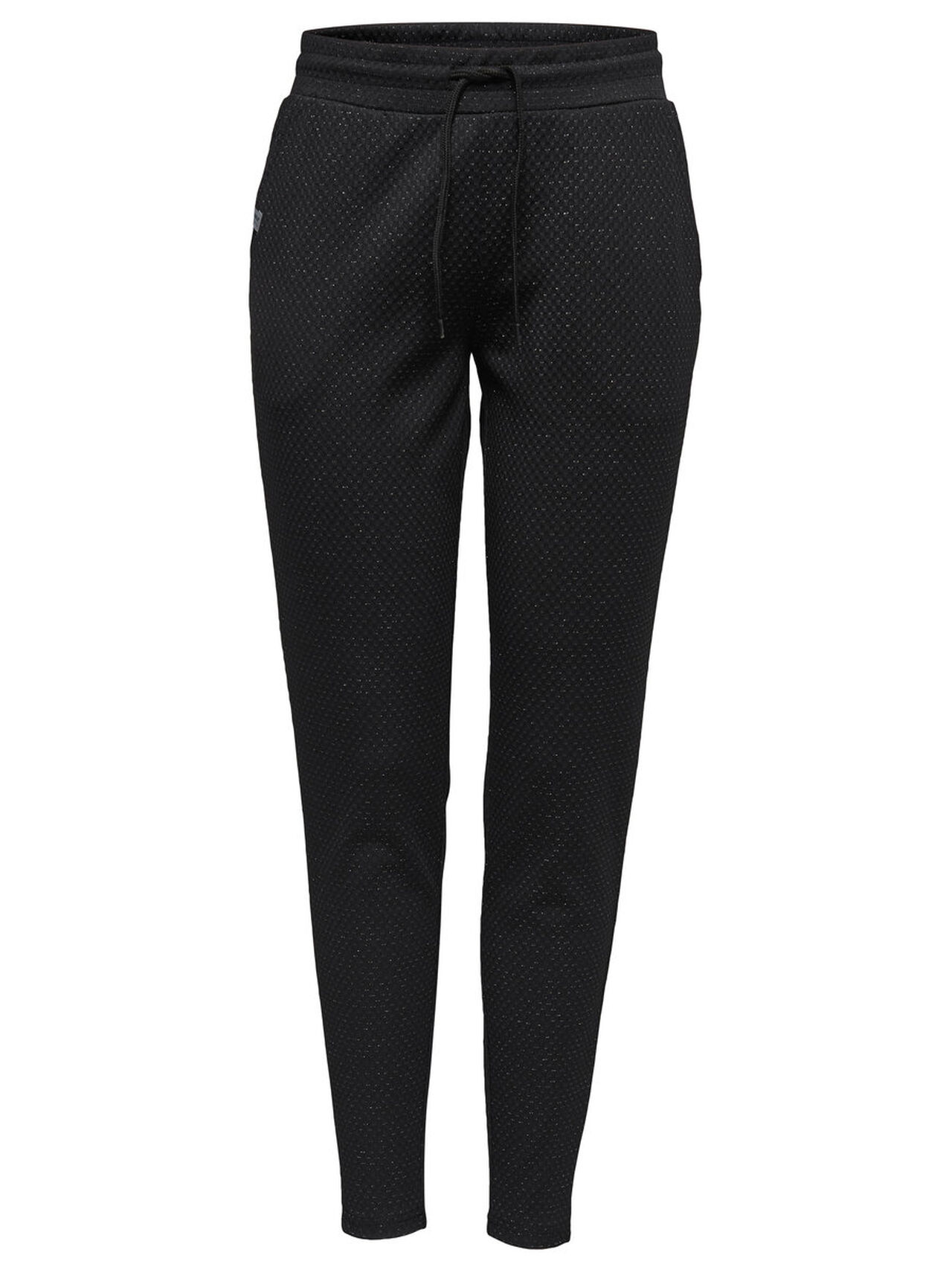 ONLY Glitter Sweat Pants Women Black