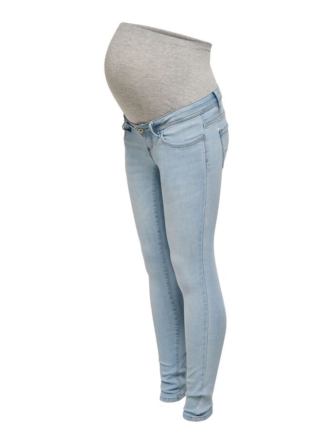 MAMA OLMWAUW LIFE SKINNY FIT JEANS, Special Bright Blue Denim, large