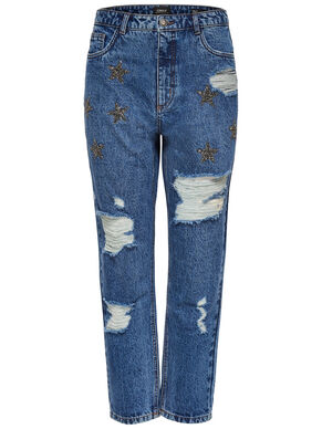 KELLY STAR MOM JEAN COUPE CLASSIQUE