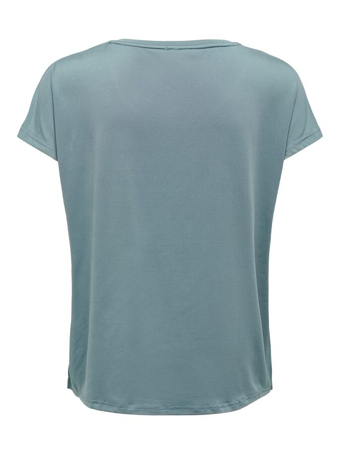 LOOSE FITTED TRAINING TEE, Goblin Blue, large