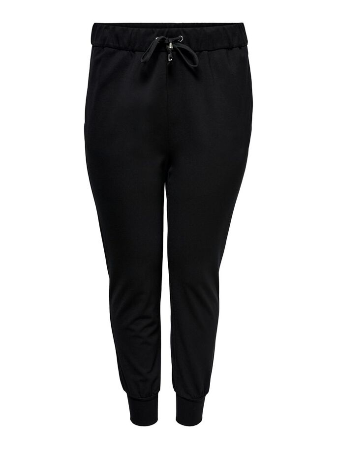 CURVY RELAX TROUSERS, Black, large
