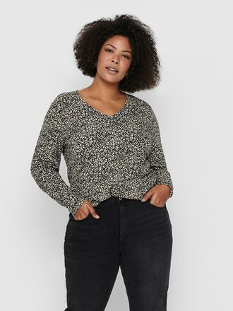 CURVY PRINTED TOP