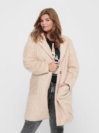 CURVY SOLID COLOR COAT